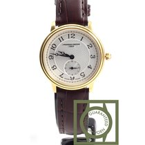 Frederique Constant Slim Line Silver Dial yellow gold NEW