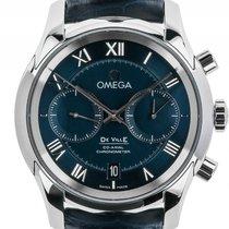 Omega De Ville Co-Axial Stahl Automatik Chronograph Armband...