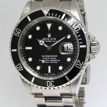 Rolex Submariner Stainless Steel Black Dial/Bezel Automatic...