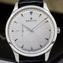 Zenith 03.2010.681/01.C493 Elite Ultra Thin Silver Dial SS /...