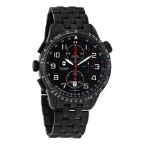 Victorinox Swiss Army Airboss Mach 9 Black Dial Chronograph...