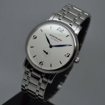 Montblanc Star Classique Automatic 39mm Small Second Steel ...