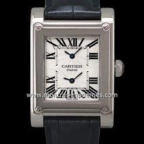 Cartier Tank À Vis Dual Time Réf.w1534351