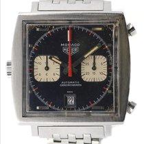 """Heuer Monaco Ref.1133B orig.""""Steve Mc Queen"""" 1969..."""