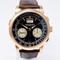 A. Lange & Söhne Datograph Flyback  Roségold schwarzes ZB