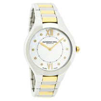 Raymond Weil Noemia Diamond Ladies Swiss Quartz Watch 5132-STP...