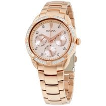 Bulova Women's 98r178 Day And Date Multi-function Dial 36...