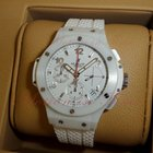 "Hublot Big Bang 41mm ""Aspen"", White Dial - White..."