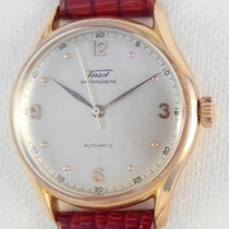 Tissot rare heavy 18 k gold, bumper automatic antimagnetic  31.21