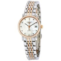 Longines Eleganrt Collection Mother Of Pearl Dial Stainless...