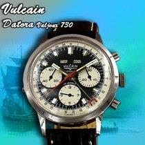 Vulcain rare Dato-Compax triple calendar chronograph srew back...