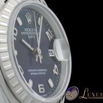 Rolex Lady Date Edelstahl Blau Metallic-Zifferblatt 26mm