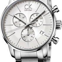 ck Calvin Klein City Chrono K2G27146 Herrenchronograph Swiss Made