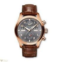 IWC Spitfire Chronograph Perpetual Calendar Red Gold Men`s Watch