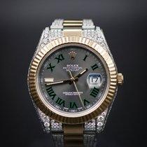 Rolex 18KT/SS Datejust II with diamonds