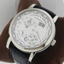 A. Lange & Söhne Lange 1 Time Zone 18k White Gold NEW 116.039