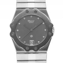 Chopard St. Moritz Stahl Diamond Quarz Armband Stahl 32mm...