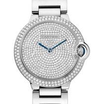 Cartier WE902045 BALLON BLEU DE 36mm WHITE GOLD 2017