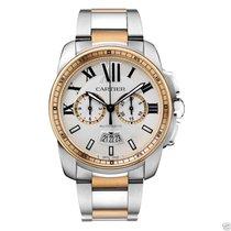 Cartier Calibre de Cartier Chronograph W7100042 Steel &...