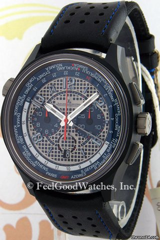 Jaeger-LeCoultre Q193J480 AMVOX5 Limited Edition Aston Martin World Chronograph, Ceramic &amp;amp; Titanium