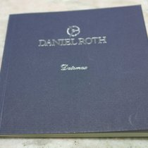 "Daniel Roth vintage warranty booklet blank for ""datomax&#3..."
