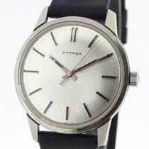 Eterna Stainless Steel Men's Vintage Watch Ref. 140T Cal....