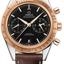 Omega Speedmaster 57 Co Axial Chronograph Automatic in 2 Tone