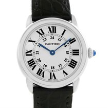 Cartier Ronde Solo Stainless Steel Ladies Watch W6700155 Unworn