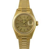 Rolex Datejust President Ladies 18k Champagne Dial, Ref: 69178