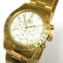 Zenith El Primero Chronograph 18 Kt Gold Automatik Goldarmband...
