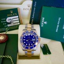 Ρολεξ (Rolex) SUBMARINER  CERAMICA ACCIAIO ED ORO LIKE NEW...