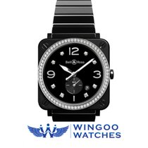 Bell & Ross BR S Black Ceramic Diamonds Ref. BRS-BL-CES-LG...