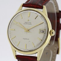 Zenith Captain solid 18K Yellow Gold Auto Bumper Hammer...