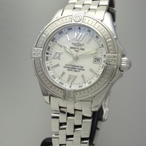 Breitling Windrider B-Class Ladies Mother of Pearl -Stahl+Stah...