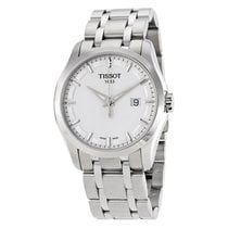 Tissot Mens Couturier Silver Dial Watch T0354101103100