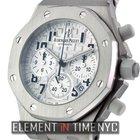 Audemars Piguet Royal Oak Offshore Chronograph Steel Silver...
