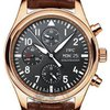 IWC Men&amp;#39;s Pilot&amp;#39;s 18K Rose Gold Watch Chrono - IW371713
