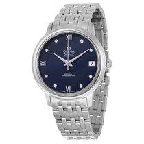 Omega Ladies 42410332053001 De Ville Prestige Co-Axial Watch