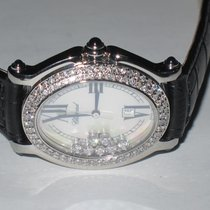 Chopard Happy Sport Oval 7 Floating Diamonds