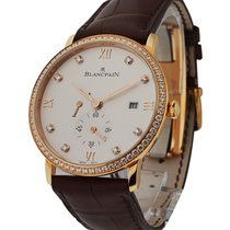Blancpain Villeret Ultraplate in Rose Gold with Diamond Bezel
