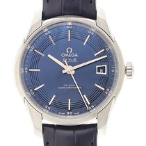 Omega De Ville Stainless Steel Blue Automatic 433.33.41.21.03.001
