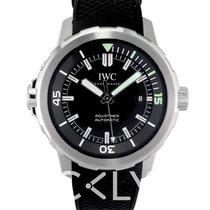 IWC Aquatimer Automatic Black Steel/Rubber 42mm