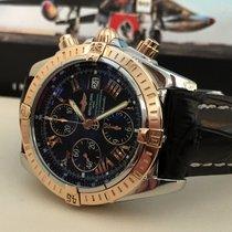 Breitling Chronomat Evolution Rose Gold Steel Roman Dial 44 mm...