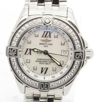 Breitling B Class A67365 Mop Dial With Diamond Bezel Lady'...