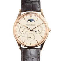 Jaeger-LeCoultre New  Master Ultra Thin 18k Rose Gold Beige...