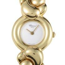 Chopard Casmir 18K Yellow Gold Ladies Quartz Bangle Watch...