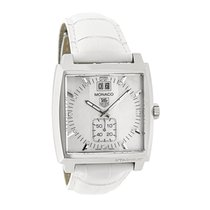 TAG Heuer Monaco Ladies Diamond MOP Swiss Quartz Watch...