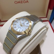 Omega Constellation MOP dial 2-tone red gold.