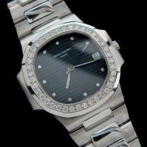 Patek Philippe Platinum Nautilus Factory Diamonds Rare