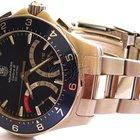 TAG Heuer Aquaracer Calibre S Regatta Chronograph Blue Mens Watch
